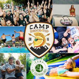Shock Top, adult, summer camp, beer, activities, win, trip, camp no counselors