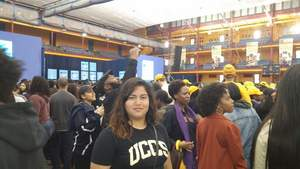 Dulce Cabrera was selected to participate in College Signing Day Event hosted by Michelle Obama.