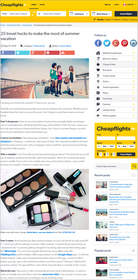 Cheapflights.ca 25 travel hacks to make the most of summer vacation,money-saving summer travel hacks