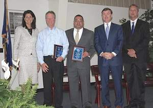 Effex receives employer award from the SCDC and special visit from Nikki Hailey, SC governor