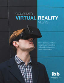 "IBB Consulting ""Consumer Virtual Reality Views"" report."