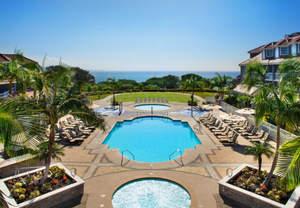 Orange County beach resort pool