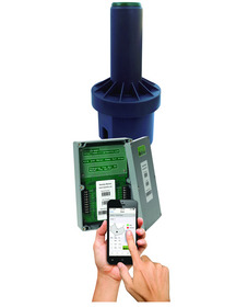 Precise, water-saving control of sprinkler direction and distance