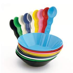 SelfEco bioplastic service ware comes in trendy colors