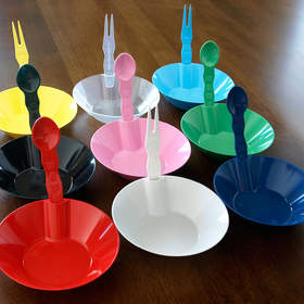 Exclusively from SelfEco, integrated holders secure cutlery