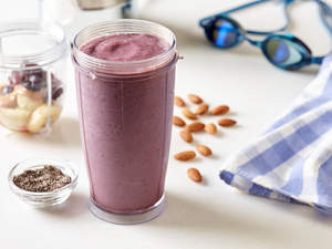 Almond Cherry Recovery Smoothie
