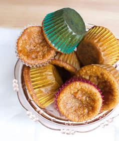 Pumpkin Spice Mini-Muffins