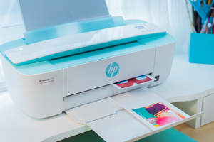 HP, DeskJet 3755, All-in-One, printer, output