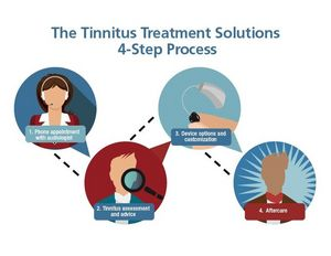 Tinnitus advice and personal care using sound therapy