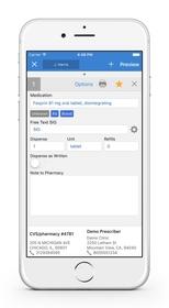 drchrono e-Prescribing (eRX) on iPhone