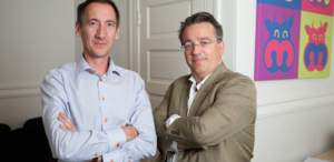 Moogsoft Inc Co-Founders Executive Vice President Mike Silvey (left) and CEO Phil Tee (right)