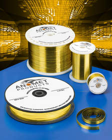 Anomet custom composite clad metal gold wire and gold-alloy wire