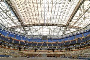 Arthur Ashe Stadium in New York, courtesy USTA