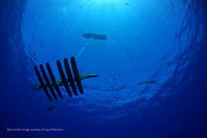 Wave Glider's solo journey home from the South Pacific, courtesy of Liquid Robotics