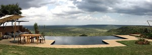 Panorama at Loisaba Conservancy