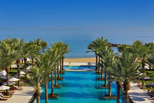 Luxury beach resorts Oman
