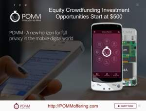 POMM Inc. Quickly Raises $601,714 with Equity Crowdfunding Campaign; Investors See Huge Opportunity