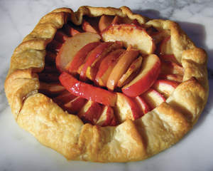 Two-Minute Apple Tart