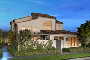 cypress village, california pacific homes, lantana, trellis court, new homes irvine, modern