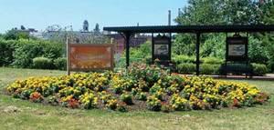 Bicentennial Peace Garden at Oswego