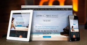 Orange County Plastic Surgeon Announces New Responsive Website