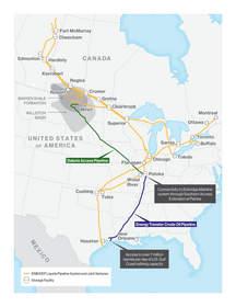 Bakken Pipeline System and Enbridge Liquids Pipeline System