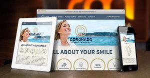 Coronado Dentist Announces New Responsive Website