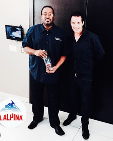 Songwriter and Producer Mark Batson with Al Culbreth of LALPINA