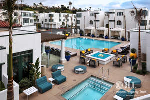 JLL Income Property Trust, an institutionally-managed, daily valued perpetual life real estate investment trust (REIT), today announced the acquisition of Dylan Point Loma in San Diego. The property is a newly-developed, ultra-luxury 180 unit coastal apartment community that is walking distance from the Pacific Ocean.