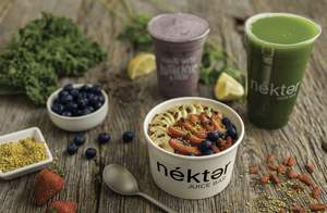 Nekter Juice Bar offers an array of freshly made and cold-pressed juices, smoothies, and acai bowls that are natural, unprocessed, nutrient-rich, great tasting, and affordable.