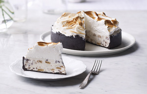 S'mores Ice Cream Birthday Pie