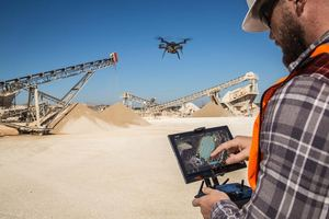 3DR, Drone, Construction, Construction Drone, Construction Executive, Site Scan, Commercial Drone