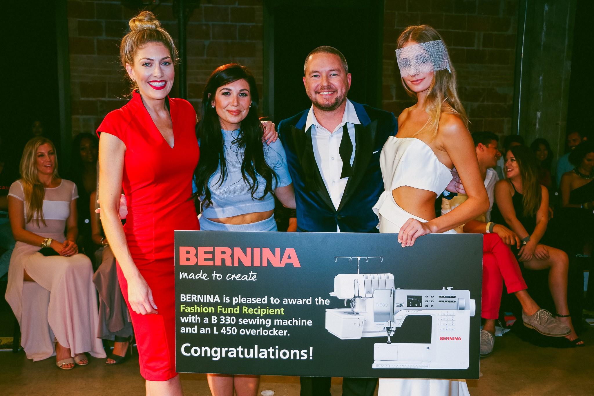BERNINA of America Recognized BERNINA Fashion Fund Recipient During Runways & Gallery Event at Fashion X Dallas
