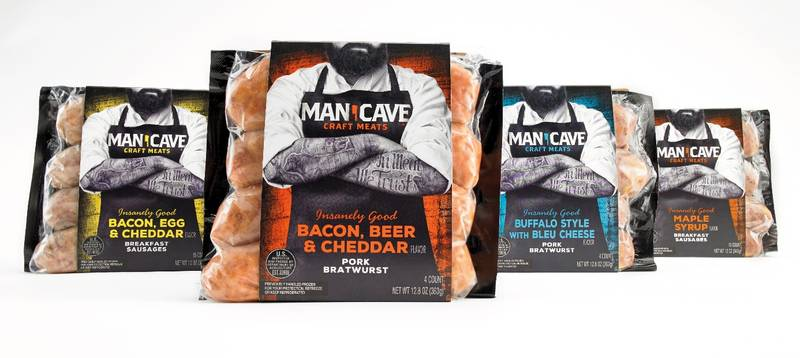 Man Cave Craft Eats Cooking Instructions : Cbx s attention grabbing packaging for man cave craft