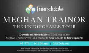 Friendable Achieves Continued Celebrity Exposure and Support