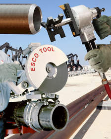 Esco Tool's pneumatic saws and pipe machining tools