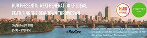 MIT Enterprise Forum Hubweek Beantown Throwdown Student Startup Pitch-off competition