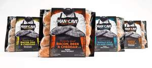 CBX's attention-grabbing packaging for Man Cave Craft Meats won top honors in the food category in the 2016 Pentawards packaging design competition.