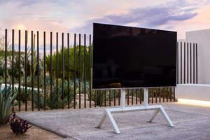 Heckler TV Stand