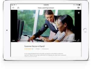 Workday Learning was purposely built to provide a high-quality video experience - and includes unlimited storage and streaming.
