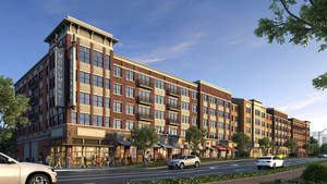Monument Village at College Park, new luxury apartment community near the University of Maryland