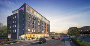Graves Hospitality  (GH) announced today that it has broken ground on the Moxy Uptown, the first hotel property in the Uptown neighborhood of Minneapolis. The six-story, 124-room, select-service hotel is targeted to open in fall 2017. GH is one of a few exclusive companies designated by Marriott as a developer and operator for the Moxy brand.