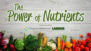 "Organic & Natural Health ""The Power of Nutrients"" consumer health series"