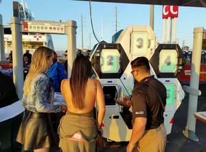 L'expérience d'entrée Qylatron améliore l'expérience du public lors des matchs de football.