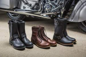 """Red Wing Shoes� Collection"" for Indian Motorcycle�"