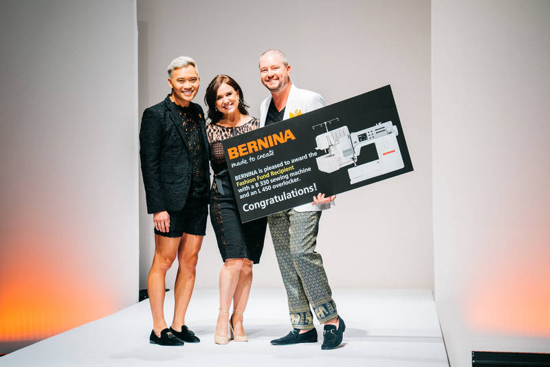 BERNINA of America Recognized BERNINA Fashion Fund Recipient During Runways & Gallery Event at Fashion X Houston