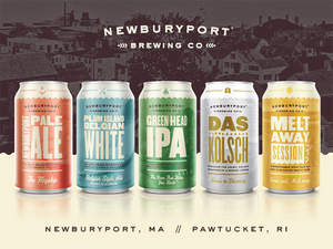 Newburyport Brewing Company's Award winning Craft Beers