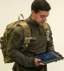Bluewater Defense Military/Tactical Backpack featuring embedded wearbable next-generation antenna communications technology