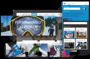 Personalize the customer journey, bringing together content and customer data from any source.