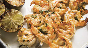 Tequila Grilled Shrimp